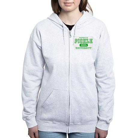 Pickle University Dill Women's Zip Hoodie