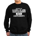 Santa Claus University Sweatshirt (dark)