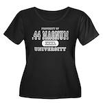 .44 Magnum University Women's Plus Size Scoop Neck