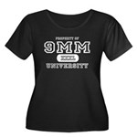 9mm University Pistol Women's Plus Size Scoop Neck
