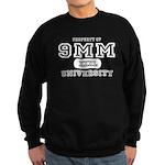 9mm University Pistol Sweatshirt (dark)