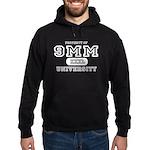 9mm University Pistol Hoodie (dark)