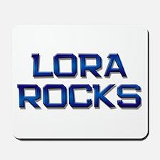 lora rocks Mousepad
