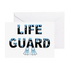 Life Guard Greeting Card