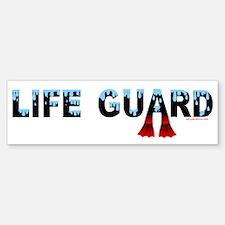 Life Guard Bumper Bumper Bumper Sticker