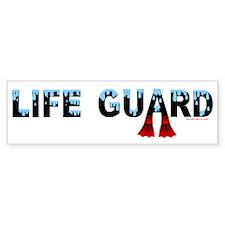 Life Guard Bumper Bumper Sticker
