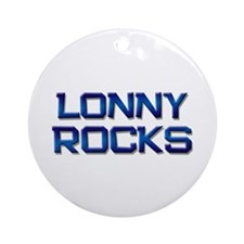 lonny rocks Ornament (Round)