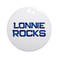 lonnie rocks Ornament (Round)