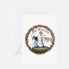 Fox Terrier Trouble Greeting Cards (Pk of 20)
