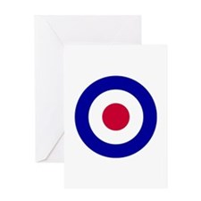R.A.F. roundel Greeting Card