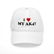 I Love MY AK47 Baseball Cap