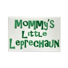 Mommy's Leprechaun Rectangle Magnet
