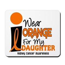 I Wear Orange For My Daughter 9 KC Mousepad