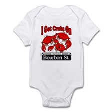 I Got Crabs On Bourbon St. Infant Bodysuit