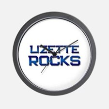 lizette rocks Wall Clock