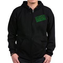 100 Percent Authentic Irish Zip Hoodie