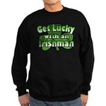 Get Lucky with an Irishman Sweatshirt (dark)