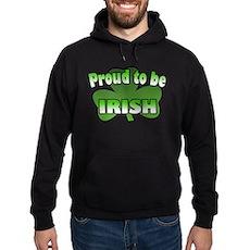 Proud to be Irish Hoodie (dark)