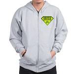 Super Irish Zip Hoodie