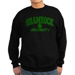 Shamrock University Sweatshirt (dark)