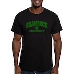 Shamrock University Men's Fitted T-Shirt (dark)