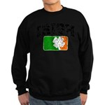 Distressed Irish Flag Logo Sweatshirt (dark)