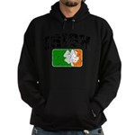 Distressed Irish Flag Logo Hoodie (dark)