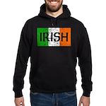 Irish Flag distressed Hoodie (dark)