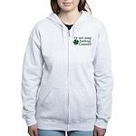 It's not easy being Green Women's Zip Hoodie