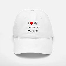 Heart Farmers Market Baseball Baseball Cap