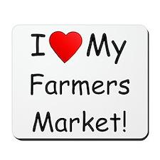 Heart Farmers Market Mousepad