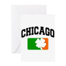 Chicago Shamrock Greeting Card