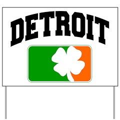 Detroit Shamrock Yard Sign