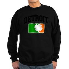 Detroit Shamrock Sweatshirt (dark)