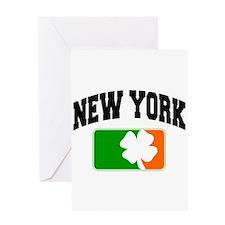 New York Shamrock Greeting Card