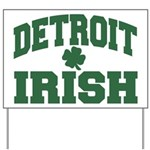 Detroit Irish Yard Sign