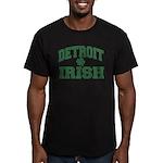 Detroit Irish Men's Fitted T-Shirt (dark)