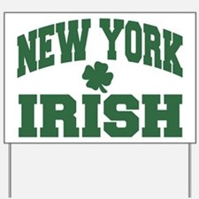 New York Irish Yard Sign