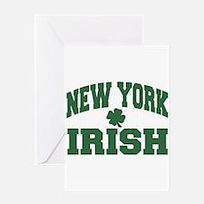 New York Irish Greeting Card