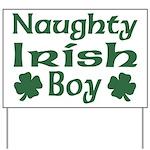 Naughty Irish Boy Yard Sign
