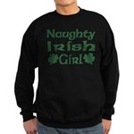 Naughty Irish Girl Sweatshirt (dark)