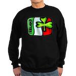 Ireland Flag Shamrock Sweatshirt (dark)