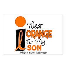 I Wear Orange For My Son 9 KC Postcards (Package o