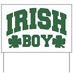 Irish Boy Yard Sign