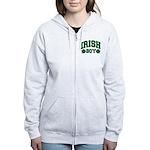 Irish Boy Women's Zip Hoodie