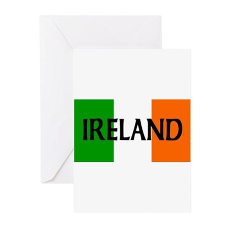 Ireland Flag Greeting Cards (Pk of 20)
