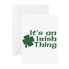 It's an Irish Thing Greeting Cards (Pk of 20)