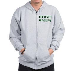 Irish MILF Zip Hoodie