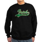 Irish Swoosh Green Sweatshirt (dark)