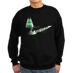 Groovy St. Patrick's Day Sweatshirt (dark)